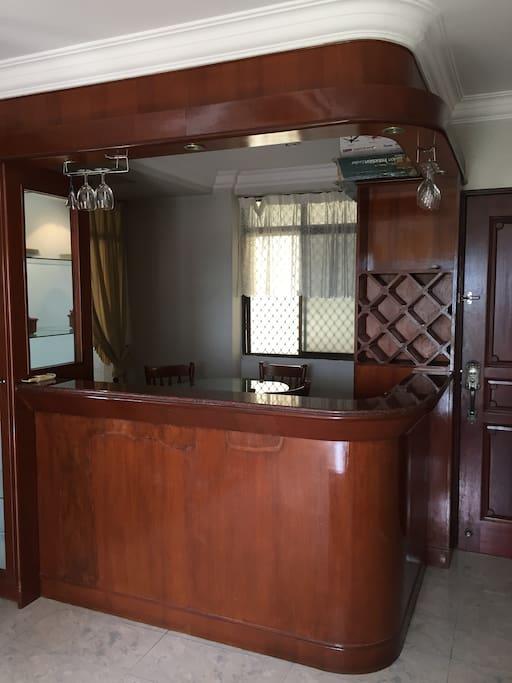 A mini bar