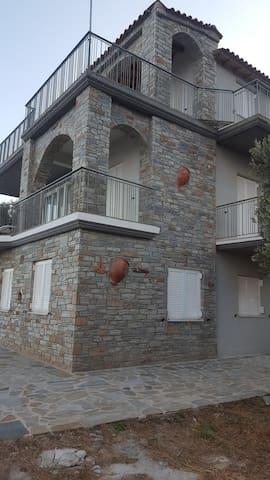 Villa Aegean Balcony - Korasida