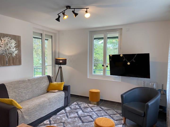 L'écrin : appartement calme et confortable