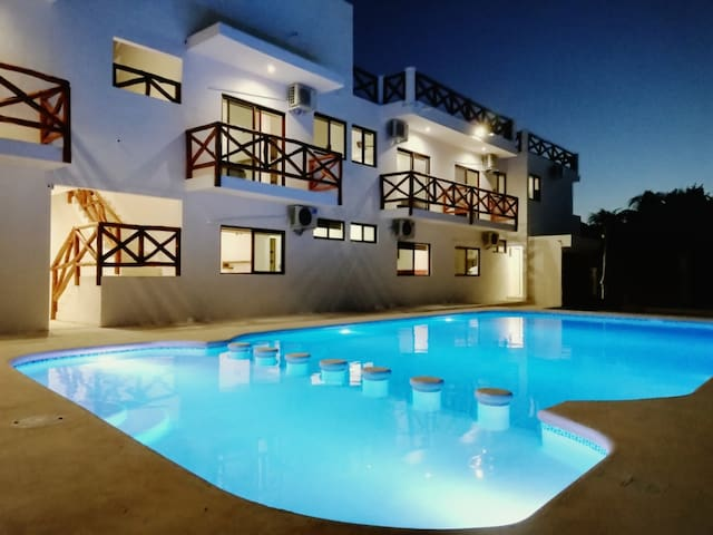 Villas Palmar Holbox, HAB. # 1
