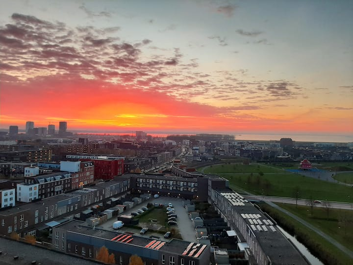 Best view in Amsterdam area!