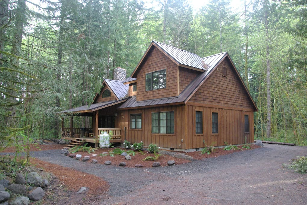 Private Mt Hood Riverfront Cabin Cabins For Rent In