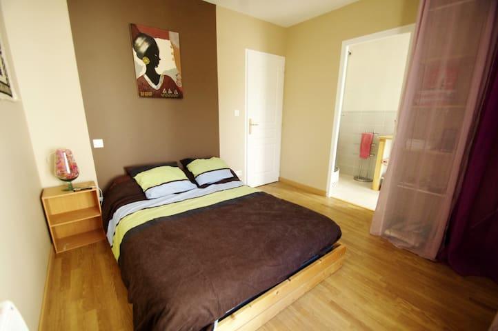 LOURDES, appart t3 2/4 pers 80 m2 CLASSE 3 CLES - Lourdes - Apartment