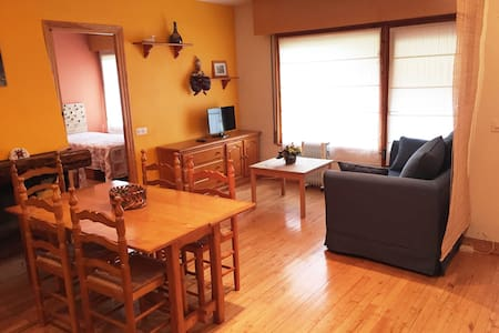 Amplio apartamento en Vielha para 4 personas - Lleida - Huoneisto