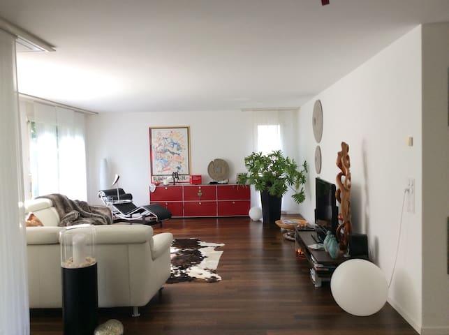 Alprausch und Natur - Wetzikon - Apartamento