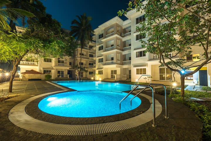 2BHK Apartment with Pool
