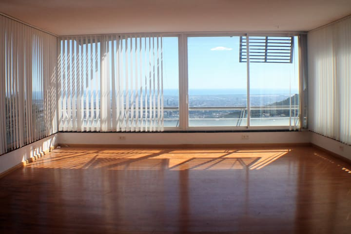 Private Apartment, Co-Working & Best View of BCN!