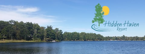 ¡El tranquilo entorno de Lakeview Cabin te espera!