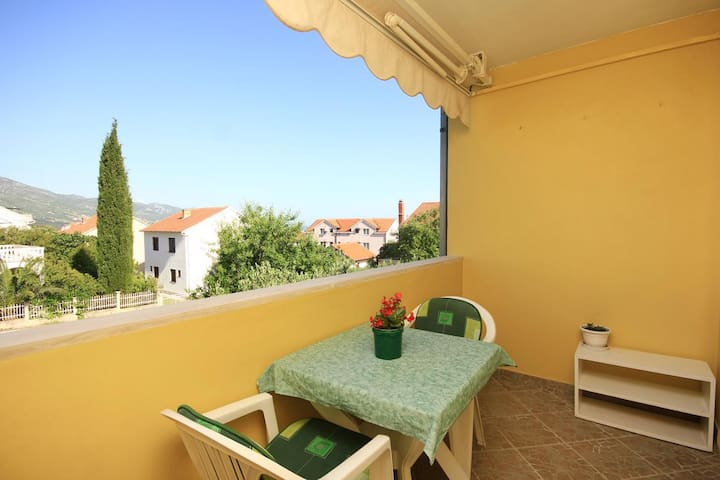 One bedroom apartment with terrace Orebić (Pelješac) (A-10082-b)