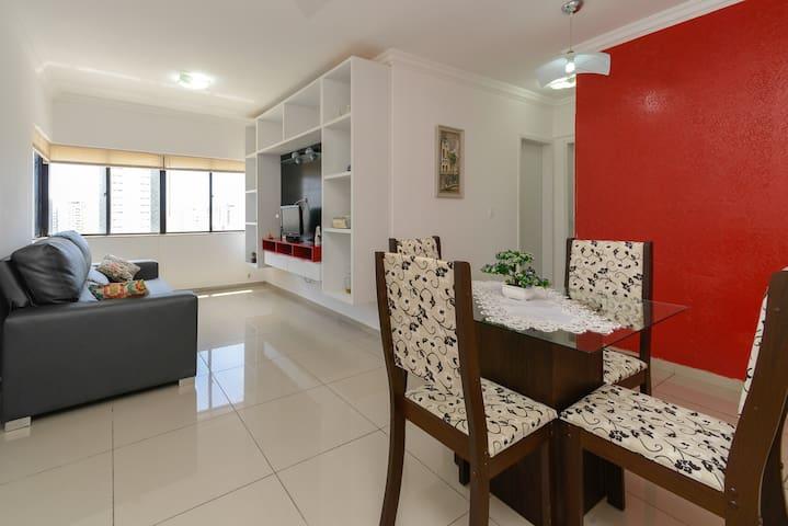 Flat Home Service Ametista em Boa Viagem - Recife