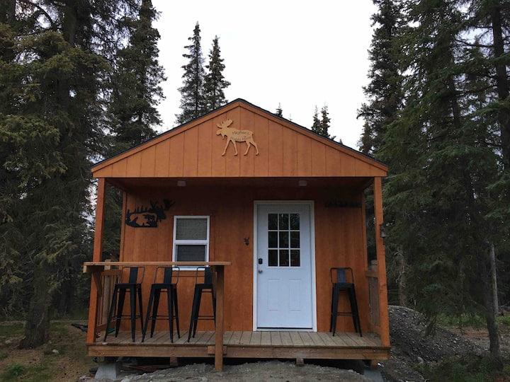 Meghan's Mighty Moose at P & K Anglers Retreat