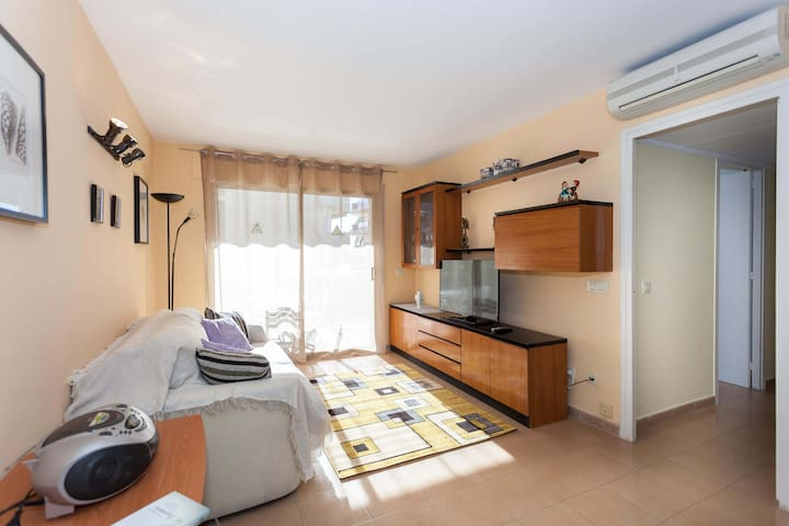 Perfect big apartment on the beach (Pineda d'mar)