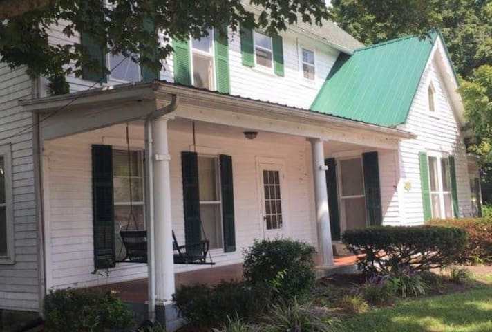Mammoth Cave Historic Home: Rooms 1 + 2