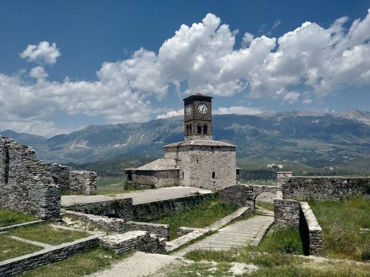 Castle of Gjirokastra (Clocktower)