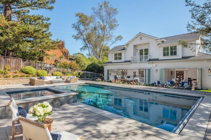 SF Bay Area Villa with Olympic Size  Pool
