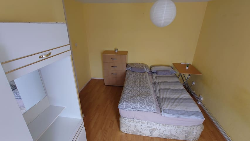 Small double room for travellers