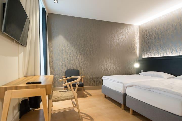 Spacious & Cosy Quadruple Room - Geneva Heart