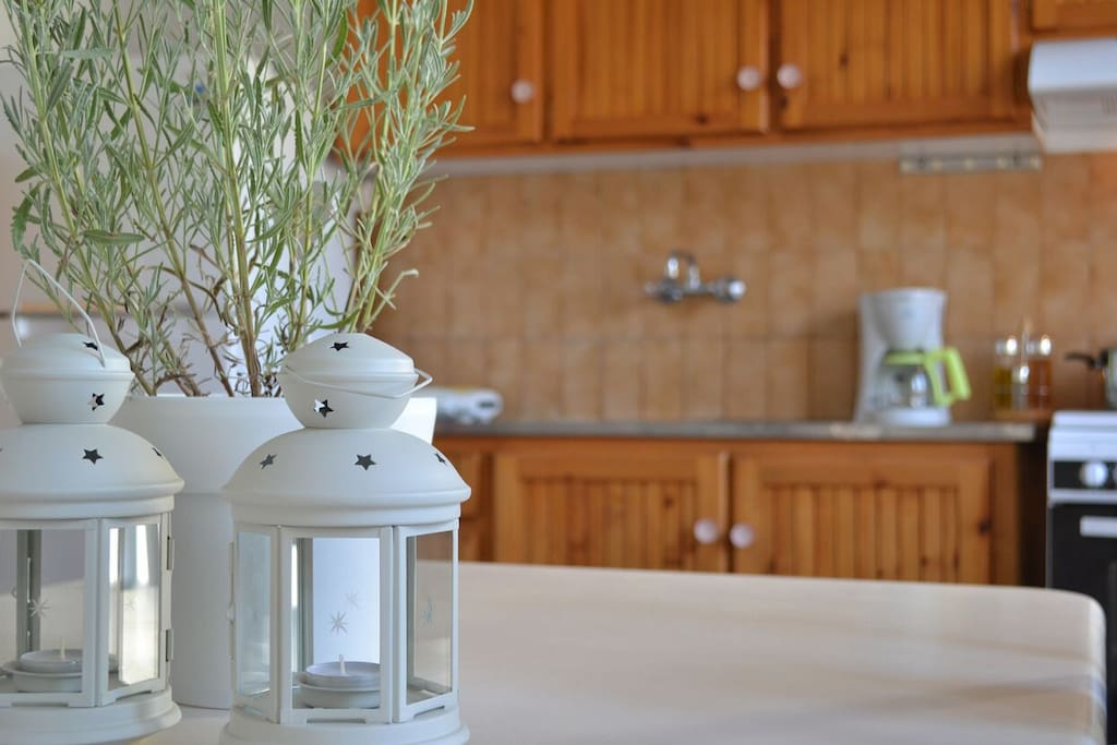 Prepare a healthy meal for you or your family. The kitchen is fully equipped.