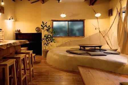 【24h Private Onsen】 HAKONE TENT Male Dormitory