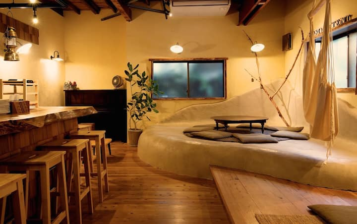 【24h Private Onsen】 HAKONE TENT Male Dormitory