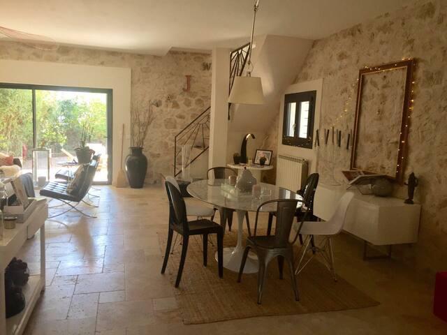 Maison d'architecte design centre - Aix-en-Provence - Ev