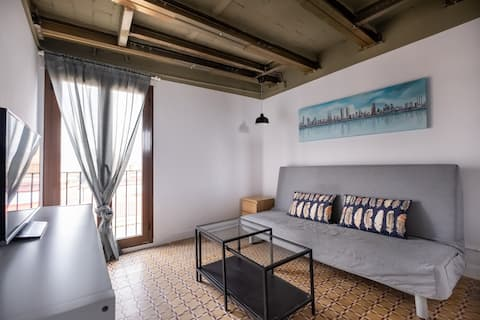 PENTHOUSE LOFT IN THE GOTHIC QUARTER