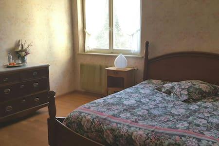 Belle Chambre au calme 15' AEROPORT bâle mulhouse - Buschwiller - Hus
