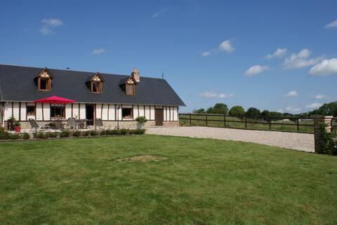 Maison Normande de caractère à la campagne