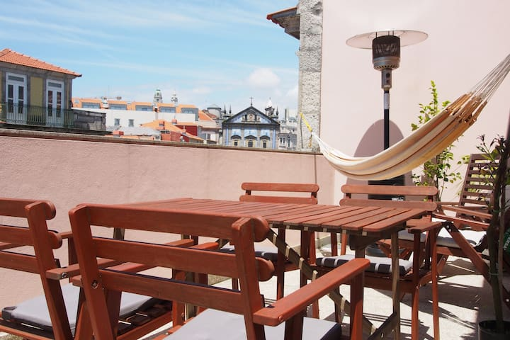 Apart w Garage & Terrace in the heart of Porto - Porto - Lakás