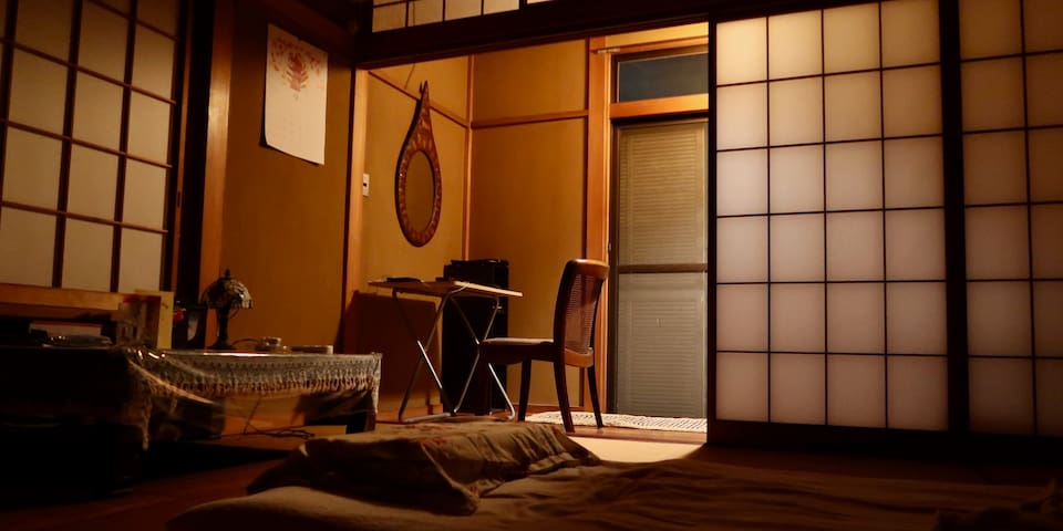 Two Private Rooms in a Japanese traditional house