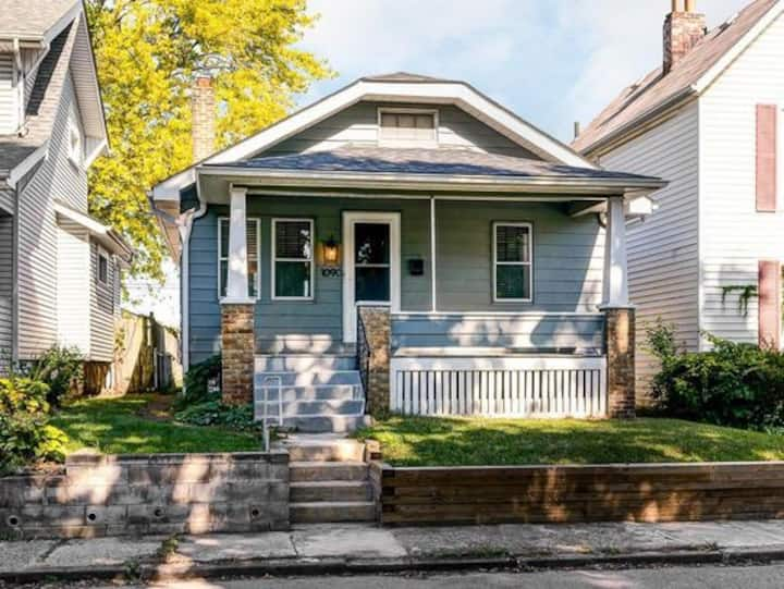Charming Franklinton bungalow west of Downtown