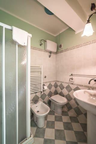 Camera verde (suite) Locanda Belvedere