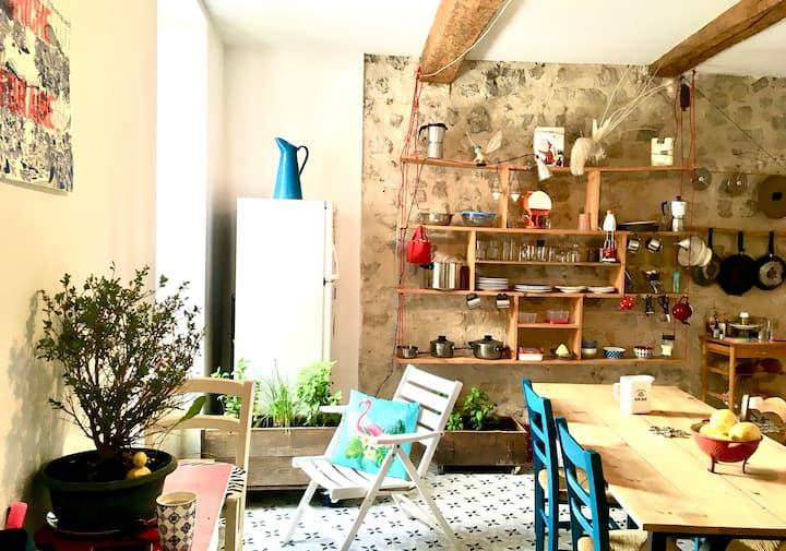 Bel appartement de 90 m2 au coeur du Luberon