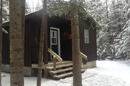 ADK Campground Cabin - Lake Placid
