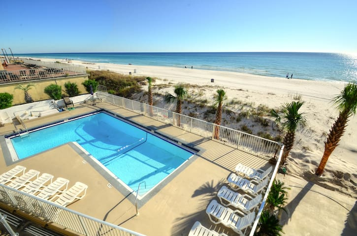 Sea Glass Villa- Walk to Pier Park! Gulf front!