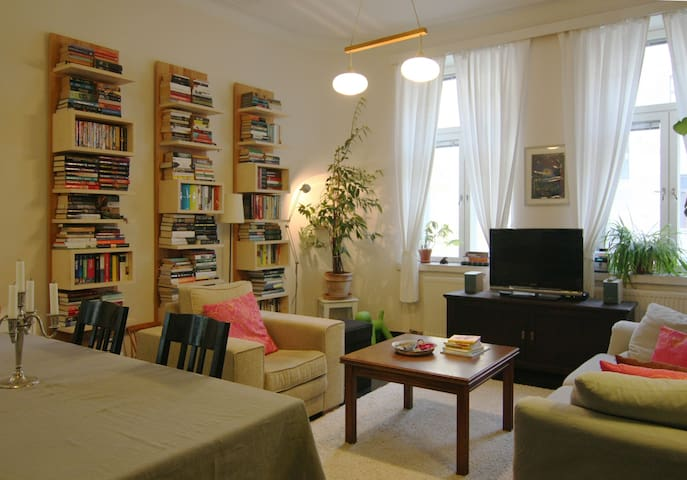 Colorful flat in center (66 sqm) - Helsingfors - Apartment