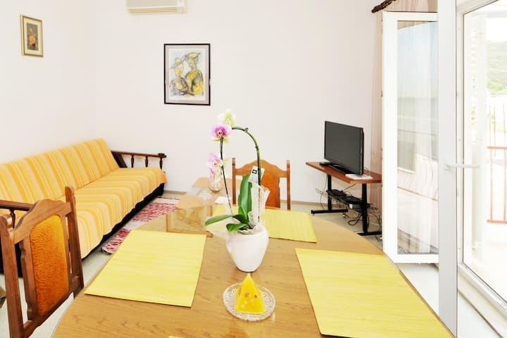 sunny seaview apartment in Dugi Rat
