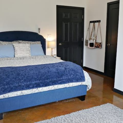 Enjoy a private suite in a Northern Dog Trot Home!