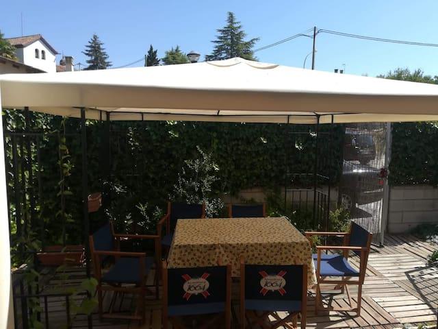 Apartamento con terraza equipada en La Puebla