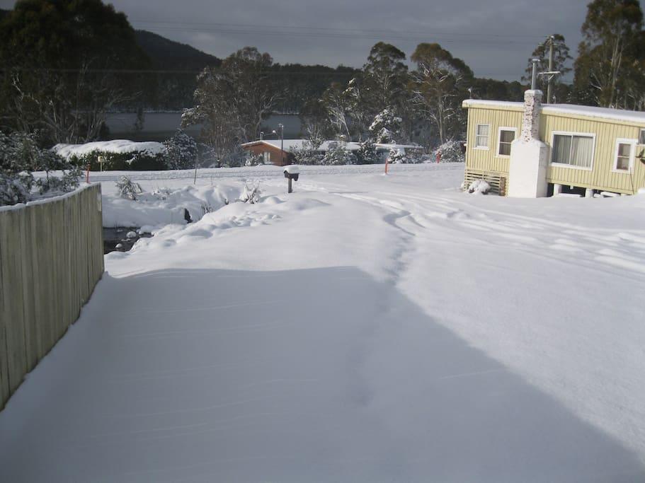 Winter at Bradys Lake