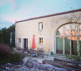 Self-catering holiday in a quiet French village - Bercloux - Haus