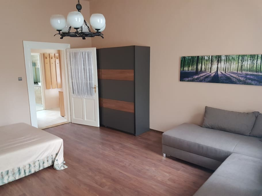 Spacious room for 4 persons