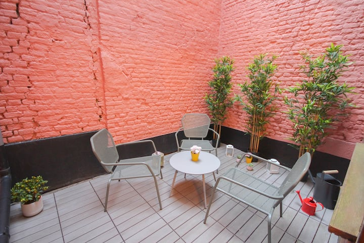 Old town of Lille - Nice duplex 2 bdrms + Terrace