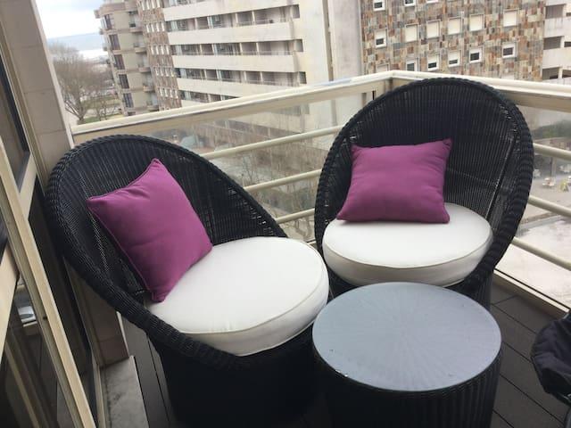 Belle chambre 150m de la plage - Póvoa de Varzim - Appartement