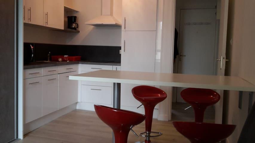 studio le havre meublé tout confort - Le Havre - Departamento