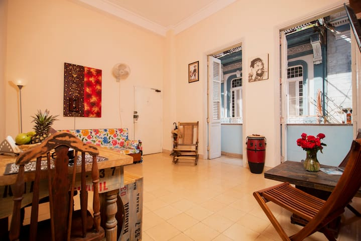Spacious flat in Centro , a privileged location.