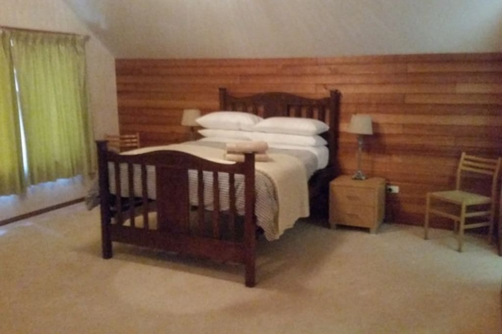Upstairs double bedroom with ensuite.