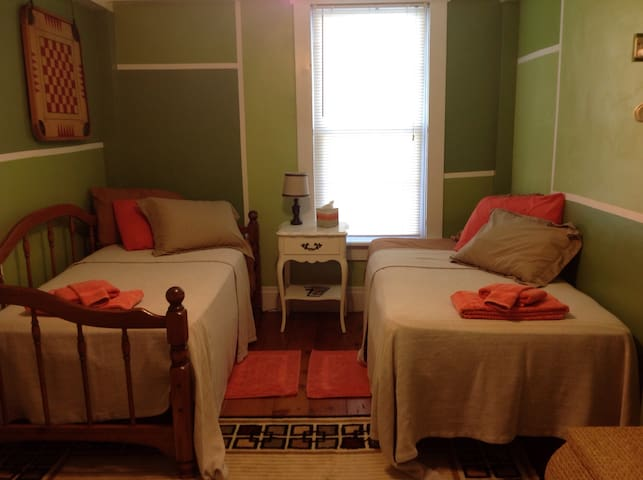 Circa 1800s  Cozy Twin Beds With Shared Bath - Somerset