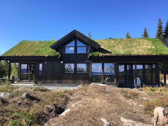 Hytte til leie like ved Norefjell.
