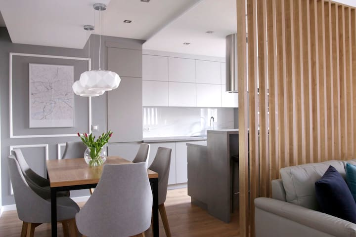 71 m2 luxurious apartment +lift in Katowice centre
